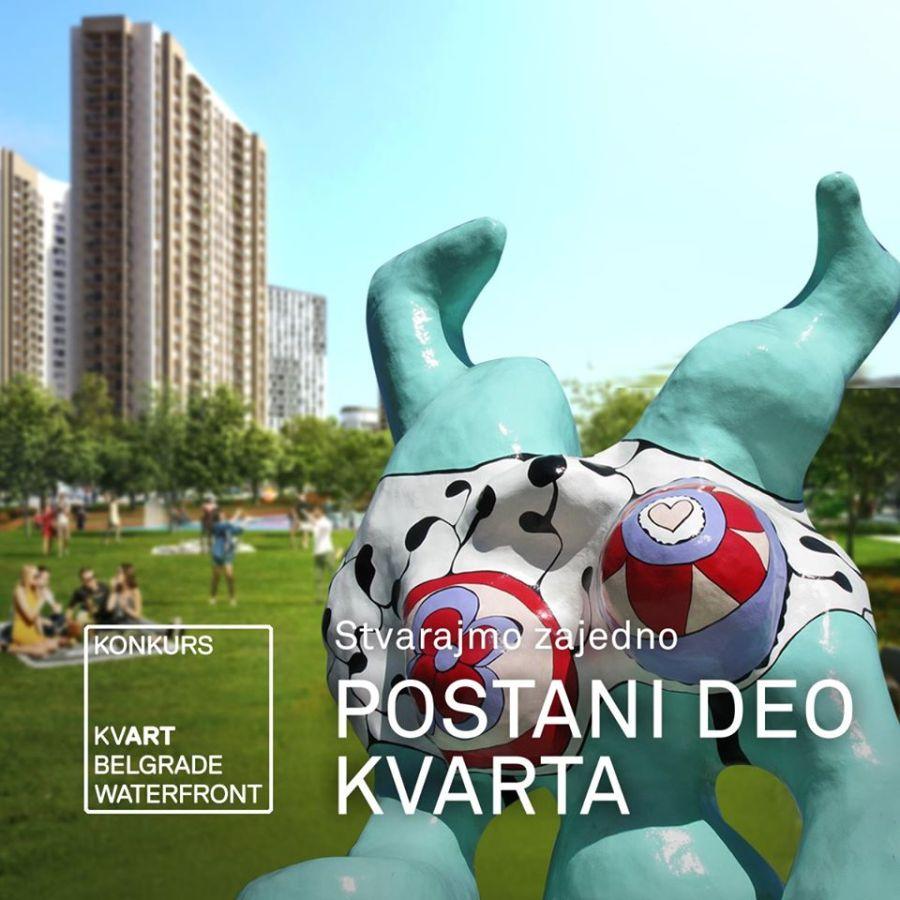 Umetnički konkurs: Postani deo KVARTA