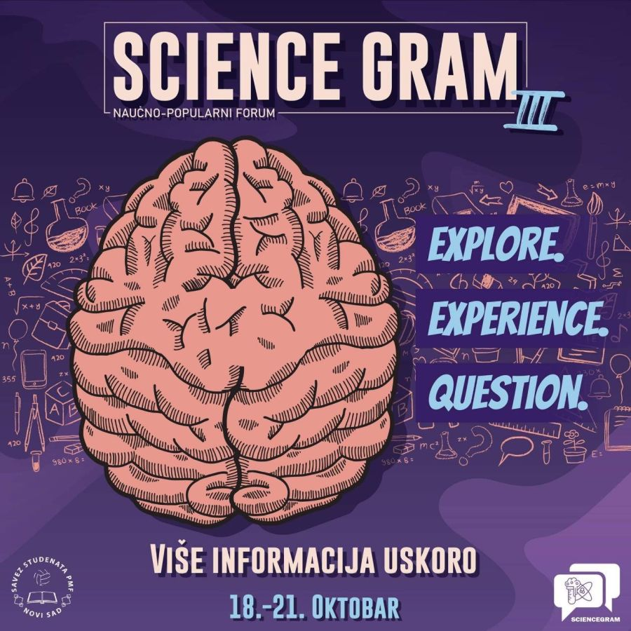 "Naučno-popularni forum: ""Science Gram"" 3"