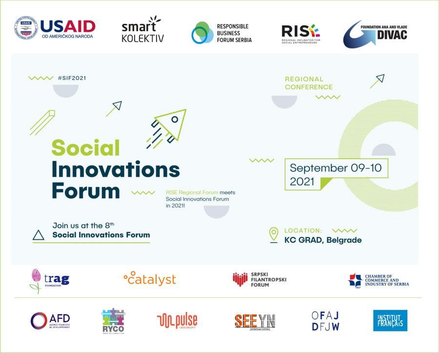 Forum socijalnih inovacija 2021 – Oglas za volontere