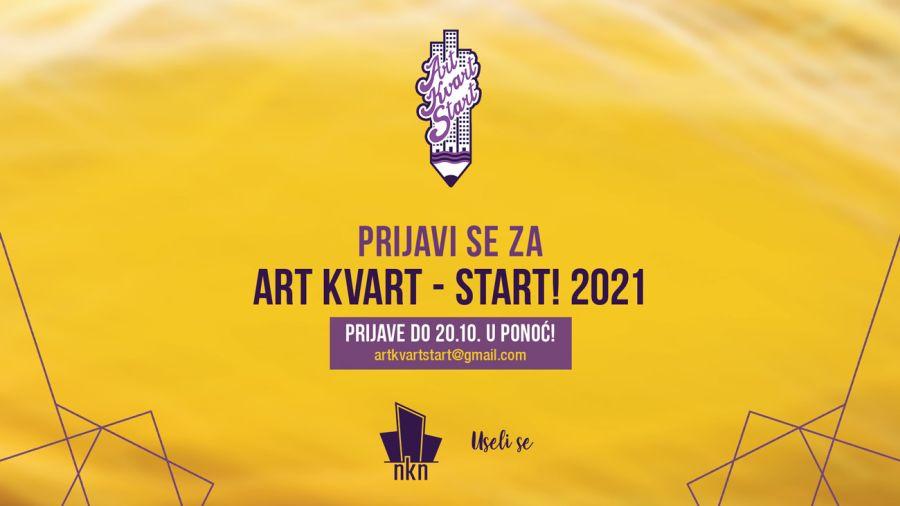 """Prijave za osmi """"Art Kvart - Start!"""" otvorene do 20. oktobra!"""