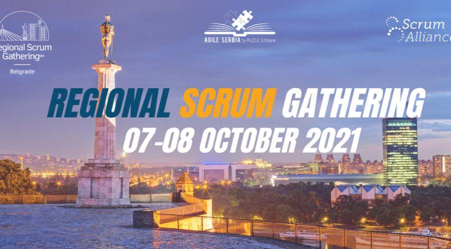 Najveći Agile događaj u CEE regionu - Regional Scrum Gathering Belgrade 2021