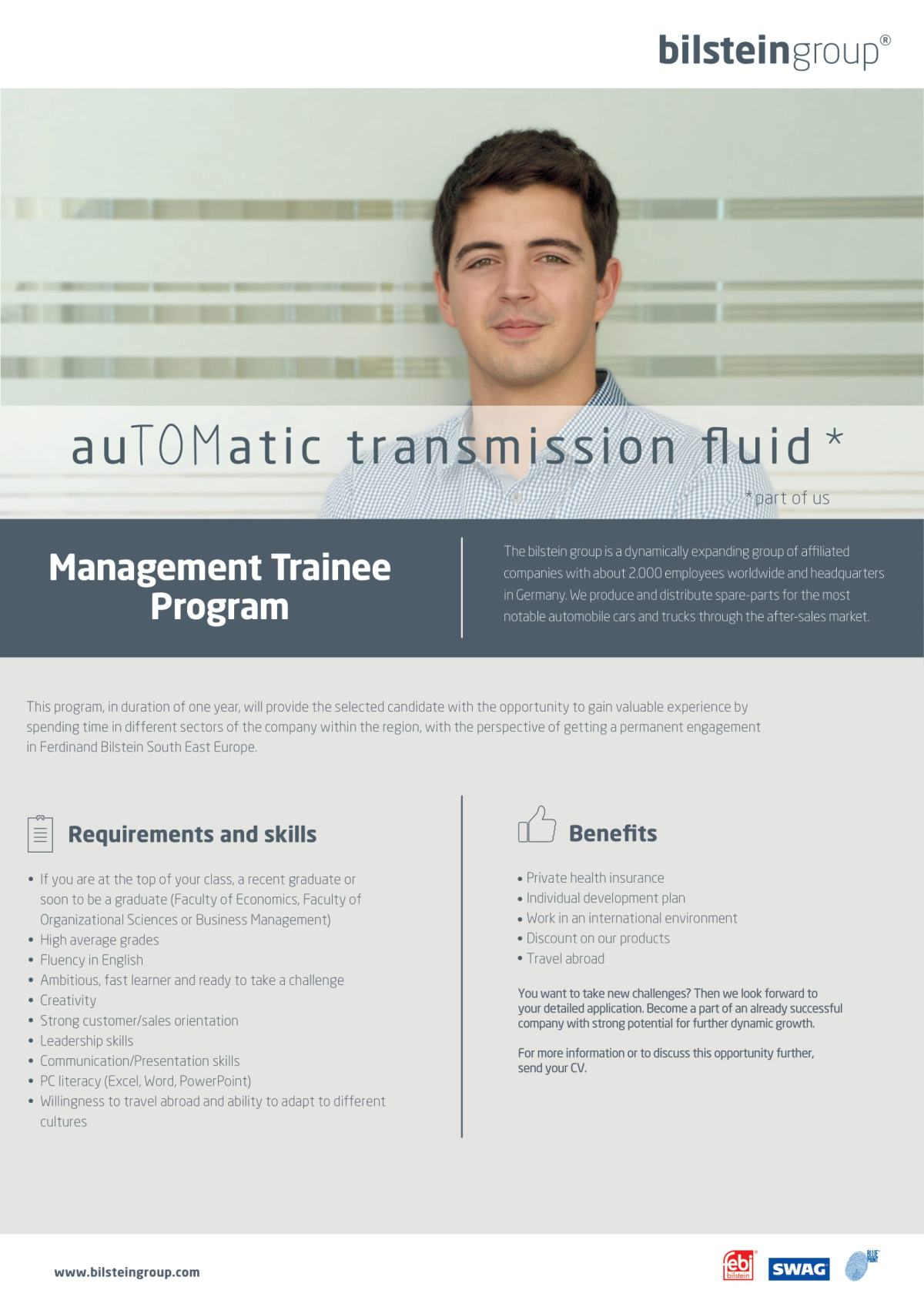Bilstein - Management Trainee