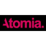atomia logo pink
