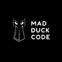 mad duck code logo