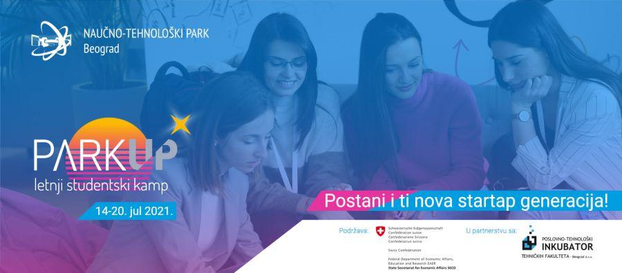 Otvorene prijave za letnji studentski startap kamp ParkUP! 2021